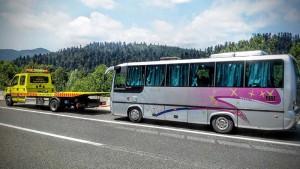 Šlepanje autobusa