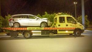 Prijevoz oštećenih automobila